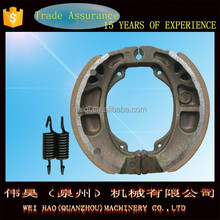 top quality motorcycle brake shoe NEW CG125 manufacuter in China