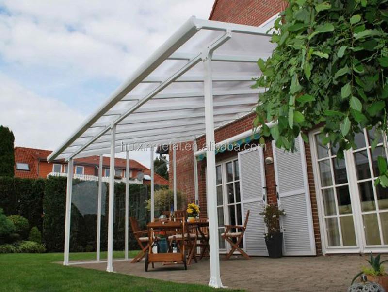 cadre en aluminium solide creux polycarbonate balcon auvent tanche patio couvre auvents id de. Black Bedroom Furniture Sets. Home Design Ideas