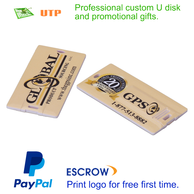 Paypal Acceptable Free Logo Printed Custom Promotional