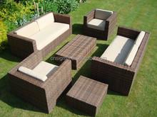 2015 Sigma all weather outdoor rattan furniture resin wicker bench garden patio furniture