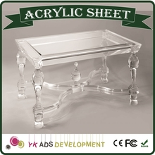 SGS,ROHS acrylic furniture customized display for super market /super mall/ retail store /shopping mall