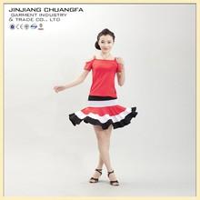 Good elasticity beautiful women dance dress