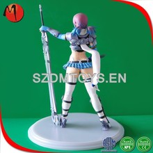 China supplier lovely PVC sexy girl cartoon action figure