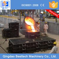 2-10t hot metal ladle, casting iron ladle, steel ladle porous plug