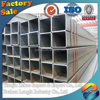 structure bs1387 zinc 30/60/80/100/120/140 API fence welded hot rolled/cold rolled Manufacture Q195 Hot dip GI square steel pipe