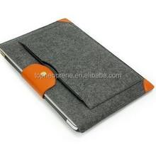 Portable Laptop sleeve Portable Bags Custom wool Felt Notebook