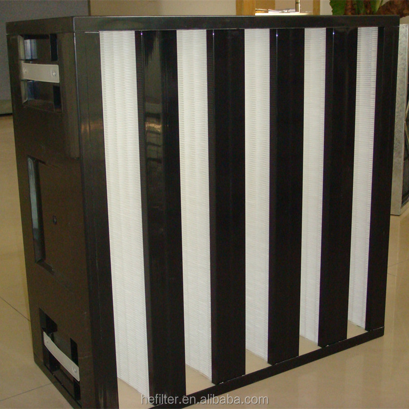 Hepa Filter For Air Conditon : Hepa box filter for air conditioning systems with low