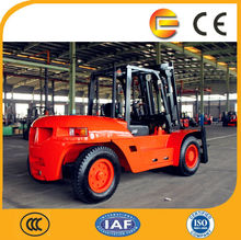 2014 China New Heavy Duty Diesel Fork Lift/10 Ton Forklift for Sale(with CE)