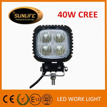 Top quality 4 inch LED work lamp 18w waterproof LED work light Car accessories IP68 LED headlight for truck LED spot/flood light