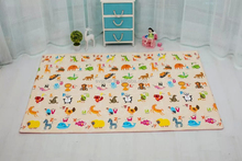15MM OR 20MM Thick Foam Color Printed Foldable PU/PVC Foam Baby Play Floor Mats