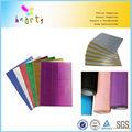 artesanato de papel metálico corrugate
