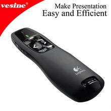 Wireless Presenter With Laser Pointer and 360 Degree Mouse for PC/Laptop