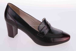 2015 dress shoes for office ladies/ high heels office ladies high heel shoes