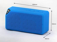 mini Bluetooth Speaker portable wireless Bluetooth speaker with Mic with fm radio Support TF Card U Disk USB Flash Drive with De