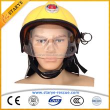 Heat Resisting European Type Firefighting Helmet