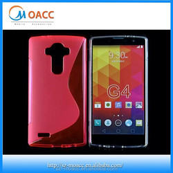 Factory price s line Gel TPU case for LG G4
