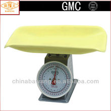Dial Display Plastic Pan Painted Iron Shell Mechanical Baby Scale for 15kg 20kg 30kg ATZ-BS