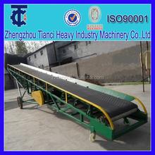 NPK compound fertilizer bags /products adjustable height truck loading mobile belt conveyor