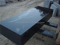China Jet Black Granite Block Natural Stone Block