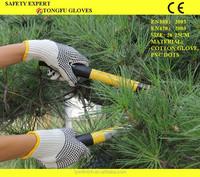 PVC dotted work gloves 600g/700g/800g/PVC dot cotton gloves