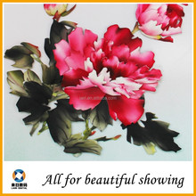 180g modern flower peonies Matte Polyester oil Canvas painting