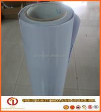 Guangzhou car sticker,140gsm white glue adhesive pvc in rolls