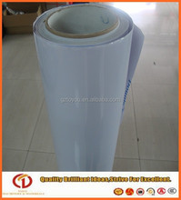 Guangzhou car sticker,140gsm white glue adhesive pvc in rolls