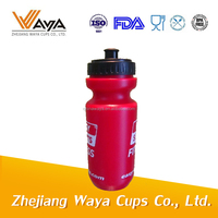 Cheap price plastic squeeze water bottle with nozzle