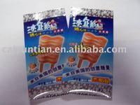 food bags/ice-cream plastic packaging bag/custom Good print plastic food packing ice cream bag