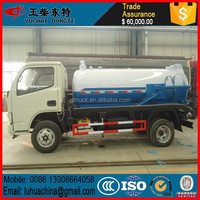 Mini Vacuum Trucks Dongfeng 2Tons Septic Tanker Truck Sewage Suction Truck For Sales