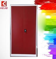 Classic Design Bedroom Used 2 Doors Clothing Steel Locker/wardrobe Metal Credenza