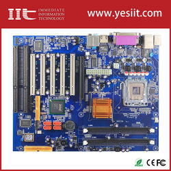 2 port network card IMI945GV-2ISA wtih two ISA slot motherboarduse 945gv support LGA775 CPU 4u server chassis