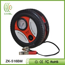 12V portable motorcycle tire inflator