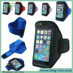 Hot Selling Sports Waterproof Sweat Resistance Armband Arm Case for iPhone 6