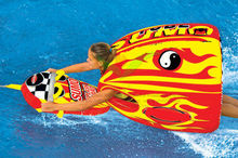 Sports Stuff Sumo Tube Water Towable & Sumo Splashguard new style for 2014