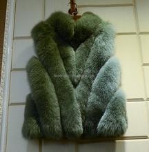 Black cashmere & silver fox fur vest/sense of hierarchicy/luxury & moving/soft & fluffy/Irresistible