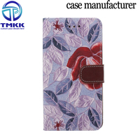 Mobile phone cover case for LG G3 flower pattern, funky mobile phone case