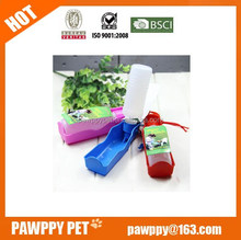 Popular Colorful Dog bottle for travel