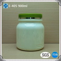 900ml 30oz food grade PET plastic jar for nutrition powder