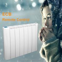 Thin design electric 220v room heater portable remote control