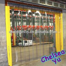 Freezer anti insect use curtain door pvc strip