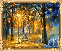 abstract oil painting by numbers hobby painting set for adults GX7316