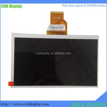 7'' tft lcd panel, TFT LCD 800*480 with touch screen CRD070TN03-50NM01 7'' TFT LCD Panel