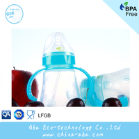 2014 Safe Free Sample Food Grade silicone baby bottle