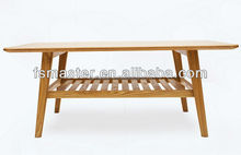 office tea table two layer coffee table wood cafe table