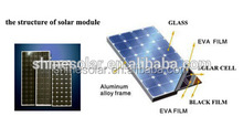 130W mono solar panel in China with full certificate
