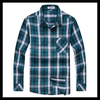 Classic pattern big check loong sleeve latest casual shirts designs for men
