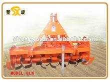 Jardim trator lado transmissão rotary tiller