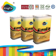 KINGFIX Brand super fast drying clear coating for car painting
