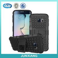 new design tires pattern Kickstand Hybrid robot Cell Phone Case for Samsung S6 edge